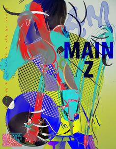 Am Mainz 2 — Martin Falck #design #graphic #collage #chaos #typography