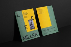 "Lee Miller Fundacio Miro Identity - Mindsparkle Mag Graphic campaign and exhibition graphics (main entrance and activities space) for ""Lee Miller i el Surrealisme a la Gran Bretanya"" (Lee Miller & Surrealism in Britain) exhibition, by Fundació Joan Miró Barcelona. #logo #packaging #identity #branding #design #color #photography #graphic #design #gallery #blog #project #mindsparkle #mag #beautiful #portfolio #designer"