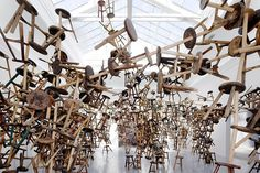 CJWHO ™ (Ai Weiwei's Bang Installation at Venice Art...) #weiwei #installation #2013 #design #venice #art #ai #biennale #bang