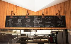 Santa Cruz Mexican BBQ Restaurant Interior #design #branding #typography