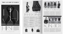 Non-Format - The Sanahunt Times – 1 #typography #magazine #editorial