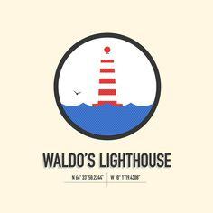 Michael Kushner / Pinterest #lighthouse #waldos #mu #kushneroscar #michael
