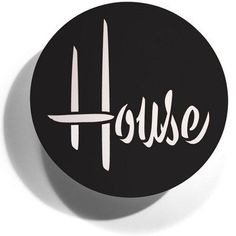 House Industries logo with shadow
