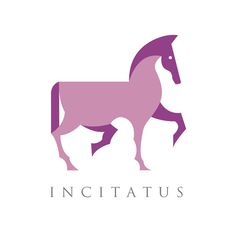 Behance :: Editing Logos #horse #print #design #graphic #illustration #purple #logo