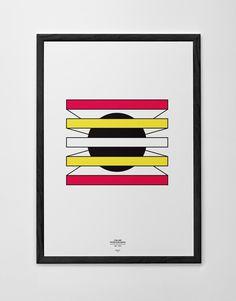 Color Propaganda Poster Marco Oggian #logo #poster #rochure #mark #monogram