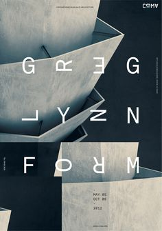 www.jeffhandesign.com #greg #jeff #jeffhandesign #han #lynn #architecture #poster #typography