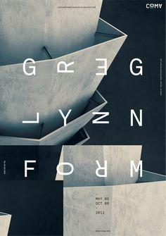 www.jeffhandesign.com #greg #jeff #jeffhandesign #han #lynn #architecture #poster #typography