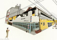 20130728001.jpg (720×514) #city #illustration