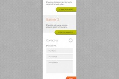 Banner template with contact form Free Psd. See more inspiration related to Banner, Template, Contact, Web banner, Form, Psd, Website template, Simple, Contact form, Horizontal and Websites on Freepik.
