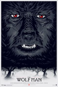 Phantom City Creative — THE WOLF MAN #creative #phantom #city #design #the #wolfman #poster