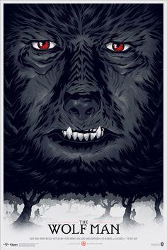 Phantom City Creative — THE WOLF MAN #creative #phantom #city #design #the #wolfman #poster