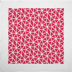 #435 Coral – A new minimal geometric composition each day