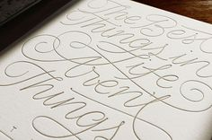 Andy Luce #type #line #lettering #script