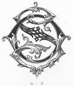 Handmade? Gothic, Celtic, Medieval #design #typography #vintage #type #label #monogram