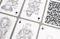 lovely package whimsical playing cards 7 #cards