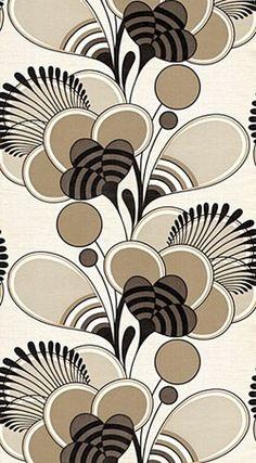 838l.jpg (JPEG Image, 250x453 pixels) #pattern #brown #vintage #flower #wallpaper