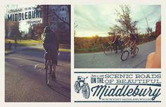 Middlebury, Vermont | Bicycle Poster
