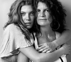 Model and Mothers by Howard Schatz #fashion #photography #inspiration