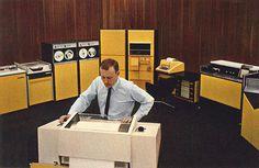honeywell yellow6 #computer #photography #retro