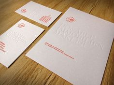 Graphic-ExchanGE - a selection of graphic projects #card #letterhead #letterpress #business