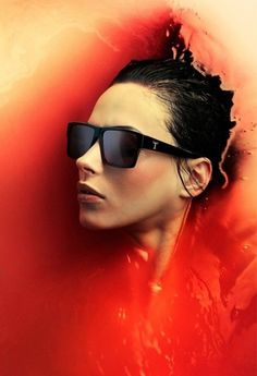 Fredrik Ödman Photography's Photos - TRIWA #red #water #woman #girl #fredrik #sunglasses #odman #photography
