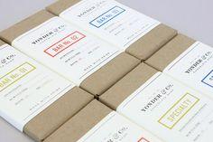 Chocolate Package Yonder & Co. #packaging