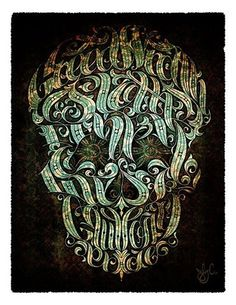FFFFOUND! | OMG Posters! #skull #design #poster #typography