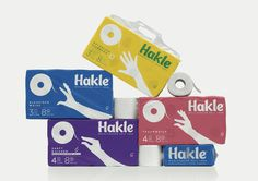 Hackle Toilet Paper Soft Impact Design & Packaging Leo Burnett / Berlin #burnett #toilet #leo #paper