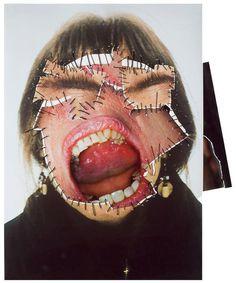 Annegret Soltau NY Faces #face #collage #art