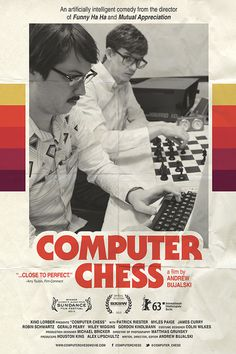 fonts in use : computer chess poster