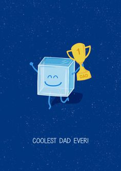 Coolest dad ever! #illustration #fathers day #dad #father #concept illustration #funny illustration