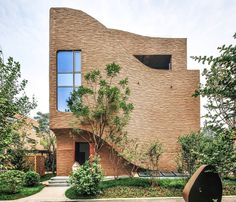 Villas complex with stunning sculptural facades