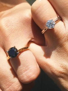 Eternal love with these engagement rings