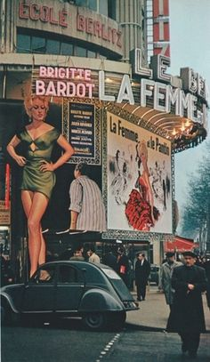 this isn't happiness™ (Movie Matinée), Peteski #bardot #photography #cinema #posters #vintage #femme #brigitte #50s