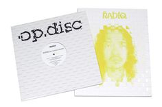 """op.disc / RADIQ"" Sleeve Design #design #graphic #sleeve #typography"