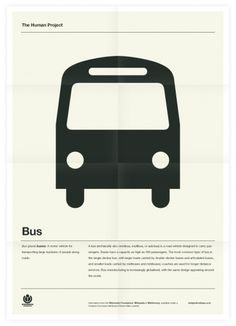 The Human Project (Bus) Poster #inspiration #creative #design #graphic #grid #system #poster #typography