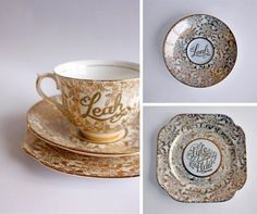 Leah's Teacup #tea #rendered #hand #cup #typography