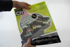 Creative Review CR's incredible dissolving bag #dissolves