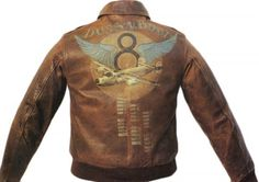 WWII bomber jacket art #jacket #bomber jacket