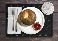 Neghelli 11 by Roberta Farese 13 #design #graphic #food #identity #bagel #typography