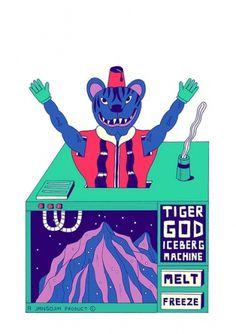 ICEBERG TIGER GOD MACHINE | Flickr: Intercambio de fotos