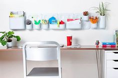 30 Ways to Keep Your Workspace Creative and Well Organized via Brit + Co. #tidy