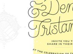 Typography, Ampersand, Wedding