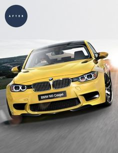 Gas Creative Image manipulation #coupe #bmw #concept #m3