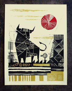 NeighborhoodStudio — Bull #poster