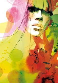 CMYK on Illustration Served