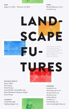 Found / Derek Chan #minimalist #colour #poster #typography