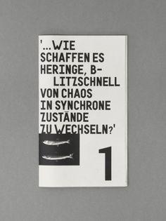 Schwarmverhalten - Larissa Kasper #larissa #design #graphic #kasper