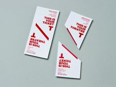 The New Theatre – Standapart #theatre #2012 #typography #australia #ticket