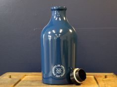Wander and Rumble Growler, Post Office Blue #brewery #beer #growlers #packaging #growler